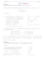 Serie Td sur L'interolation Polynomial -Analyse Numerique 2017.pdf