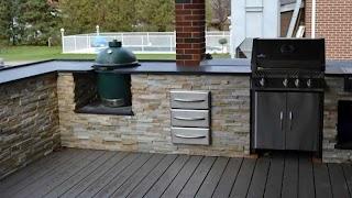 Outdoor Kitchen Stone Veneer Ross Yantzis Pave Plus Limited S