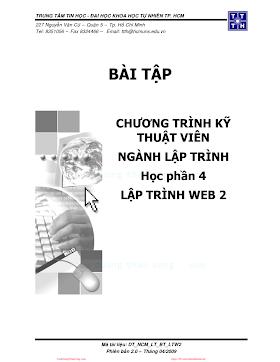 Bài tập Lập trình Web với ASP.pdf