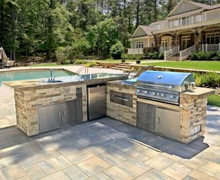 Custom Outdoor Kitchens Prefab Patio Kitchen Island Kitchen Bbq