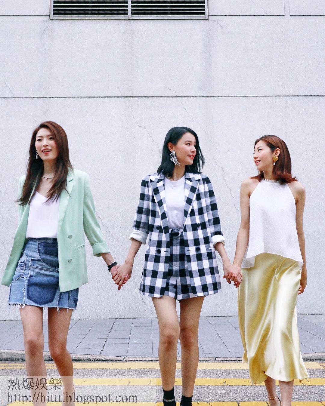 陳自瑤跟黃翠如(中)、連詩雅(左)合拍的《那些我愛過的人》昨晚首播。