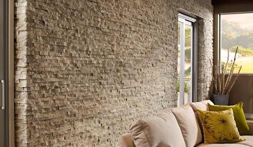 Eldorado Cottonwood European Ledgestone WS Wall Sample