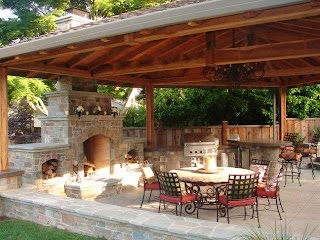 Outdoor Kitchen and Fireplace Designs Pin By Mike Eastman on Products I Love Pinterest Rooms