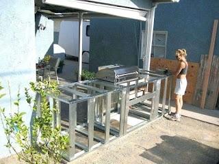 Build Your Own Bbq Island Outdoor Kitchen DIY Cinder Block Cost Videos Ideas Stone