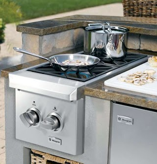 Outdoor Kitchen Burners Charming Cooking Your Home Concept