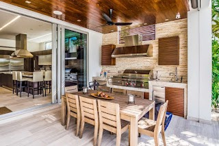 Awesome Outdoor Kitchens 95 Cool Kitchen Designs Digsdigs