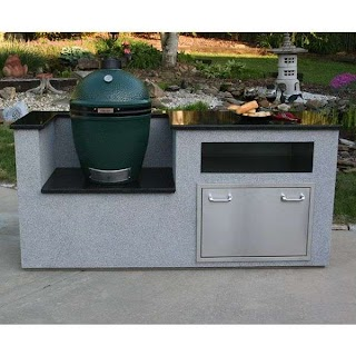 Elite Outdoor Kitchens Kitchen Kamado Island Xl Woodlanddirectcom