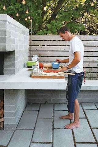 Seattle Outdoor Kitchens Magazine Home and Garden Livingbackyard with A