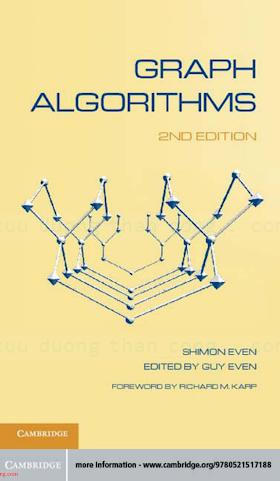 0521736536 {6187CE06} Graph Algorithms (2nd ed.) [Even _ Even 2011-09-19].pdf