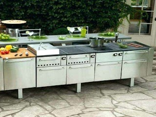 Prefab Outdoor Kitchen Frames Units Modular