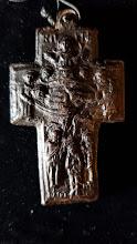 Cruce pandantiv din corn