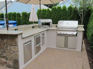 Design Your Own Outdoor Kitchen Backyard Masters Carries Twin Eagle Barbecue