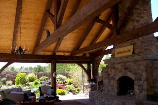Timber Frame Outdoor Kitchen S