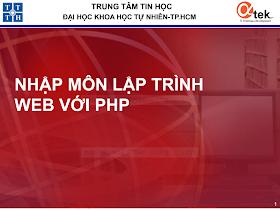 KHTN_Nhập môn lập trình web với PHP - Bài 1 Tổng quan về lập trình web php.pdf
