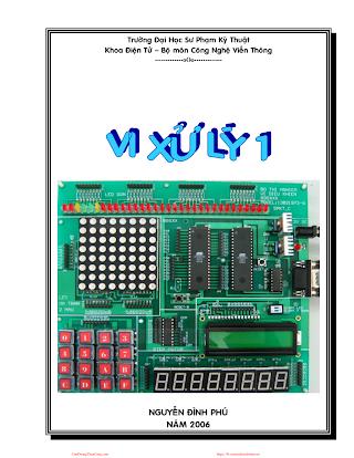 SPKT.Vi Xử Lý 1 - Nguyễn Đình Phú, 338 Trang.pdf