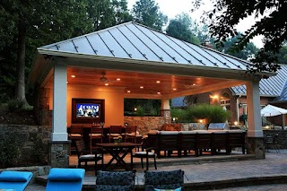 Outdoor Kitchen Pool Clifton Park and Installation