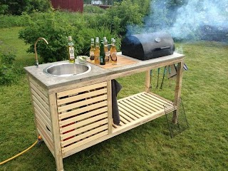 Outdoor Portable Kitchen 03 Garden DIY Projects Diy