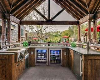 Outdoor Kitchen Bars Bar Home Designs Inpiration