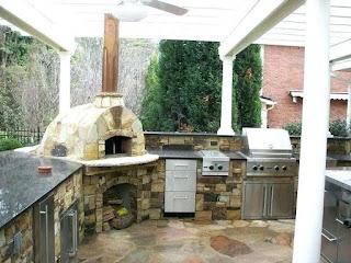 Outdoor Kitchen Equipment UK Gazebo Large Garden Sink Table Backyard
