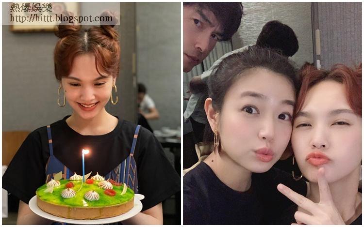 楊丞琳36歲生日,雖然李榮浩不在身邊,但有老友陳妍希和鄭元暢陪慶祝一樣開心。