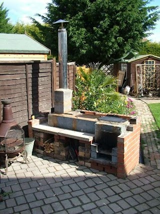 Outdoor Kitchen Stove with Rocket S Oven S