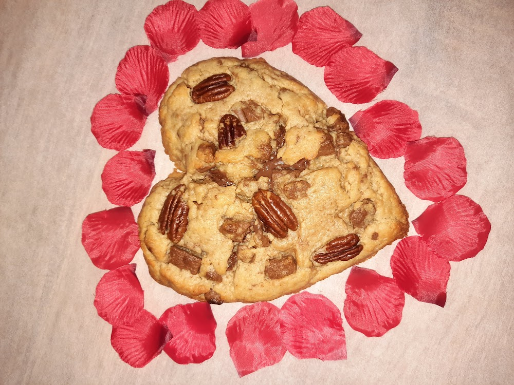 Cookie coeur à Partager avec votre amoureux