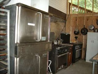 Outdoor Commercial Kitchen Abrams Creek Retreat and Campground Mt