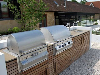 Outdoor Kitchens UK Built in Bbqs By Fire Magic