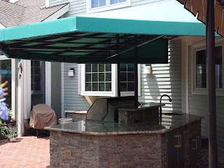 Outdoor Kitchen Canopy Cover Kreiders Canvas Service Inc