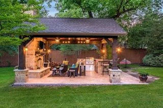 Outdoor Kitchen Pavilion 50 Enviable S for Every Yard