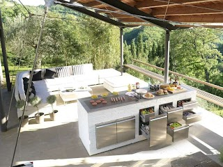 Contemporary Outdoor Kitchen Step Out to Enjoy The Beauty Modern S