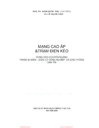 Mạng Cao Áp Và Trạm Điện Kéo - Pgs.Ts.Đàm Quốc Trụ, 164 Trang.pdf