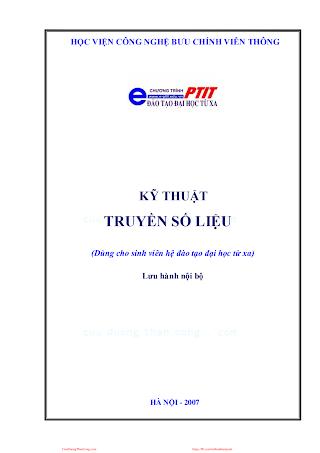 BCVT.Kỹ Thuật Truyền Số Liệu 2011 - Ths. Phạm Ngọc Đỉnh, 140 Trang.pdf