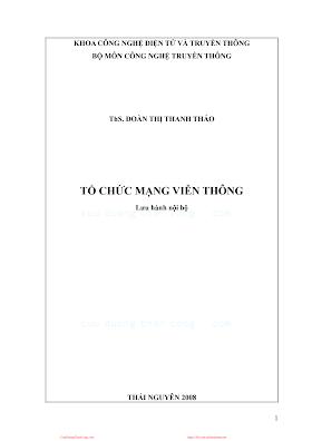 BCVT.Tổ Chức Mạng Viễn Thông - Ths. Đoàn Thị Thanh Thảo, 189 Trang.pdf