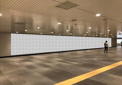 田園都市線 渋谷道玄坂ハッピーボード