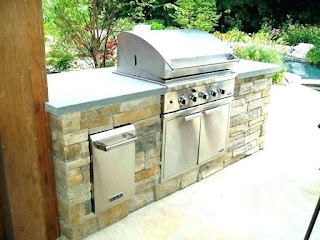 Outdoor Kitchen Grill Covers Island Smokers Gourmet Spacecolonists