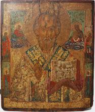 Icoana Sfantul Nicolae, sec al XVIII-lea
