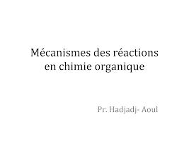 Mécanismes des réactions et Substances Nucléophiles.pptx