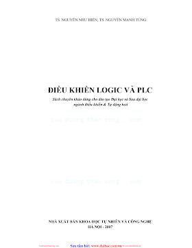 Điều Khiển Logic Và PLC - Nguyễn Như Hiền, 142 Trang.pdf