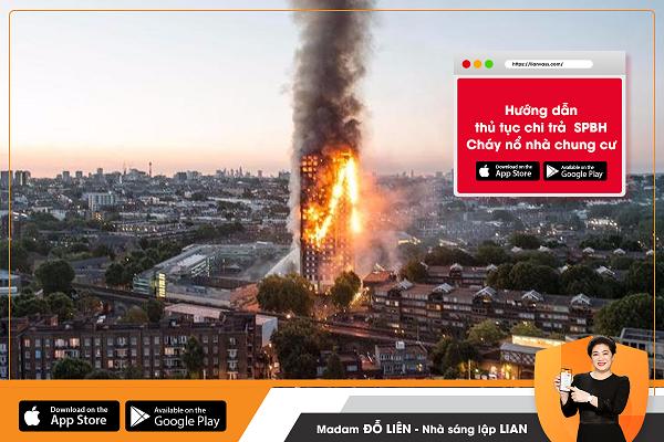 Hướng dẫn thủ tục chi trả sản phẩm bảo hiểm cháy nổ nhà, chung cư
