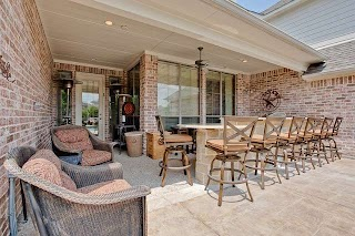 Outdoor Kitchen Bar Area Traditional Patio Dallas By Dfw