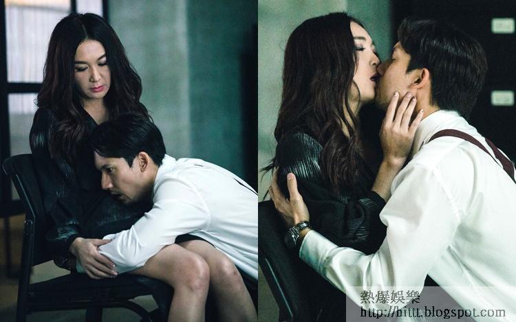 溫碧霞與關智斌演破格姊弟關係。