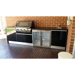 Outdoor Bbq Kitchens Perth Dome Kitchen Wbeefeater Wa Oasis Umbrella World