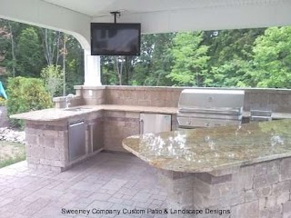Outdoor Kitchen Show and Barcustom Landscape Designssweeney Company