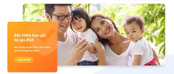 Thông tin chi tiết sản phẩm bảo hiểm Trọn gói hộ gia đình