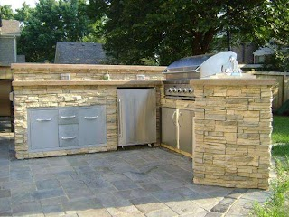 Cheap Outdoor Kitchens Kitchen Ideas Hgtv