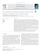 Erosive assessment of dry mouth lozenges and tablets on enamel and dentin