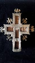Cruce  din lemn ferecata - 31 - poza 2 - Galeria Anton