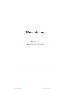 Giáo trình Linux.pdf