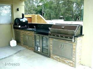 Polymer Cabinets for Outdoor Kitchens Kitchen Droniesdeveracruzcom
